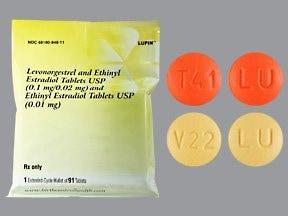 L norgest/E estradiol-E estrad 0.10 mg-20 mcg (84)/10 mcg(7) tabs,3mos