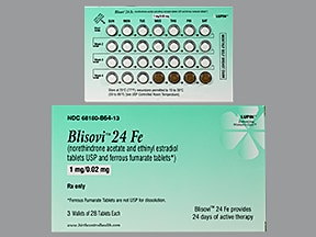Blisovi 24 Fe 1 mg-20 mcg (24)/75 mg (4) tablet