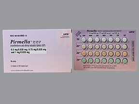 Pirmella 0.5/0.75/1 mg-35 mcg tablet
