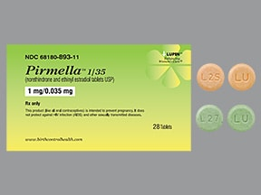 Pirmella 1 mg-35 mcg tablet