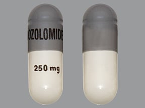 temozolomide 250 mg capsule
