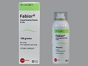 Fabior 0.1 % topical foam