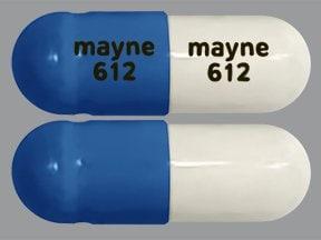 methylphenidate LA 40 mg biphasic 50-50 capsule,extended release