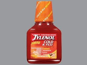 Can you take tylenol cold severe when pregnant