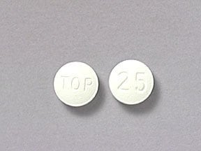 topiramate 25 mg tablet