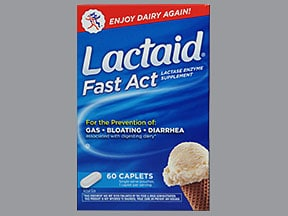 Lactaid Fast Act 9,000 unit tablet