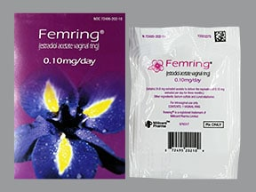 Femring 0.1 mg/24 hr vaginal