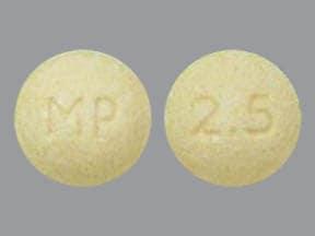 Vecamyl 2.5 mg tablet