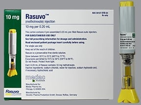 Rasuvo (PF) 10 mg/0.2 mL subcutaneous auto-injector