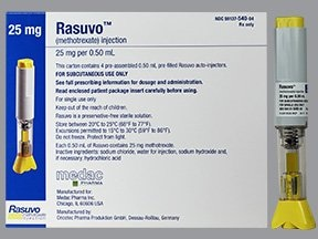 Rasuvo (PF) 25 mg/0.5 mL subcutaneous auto-injector