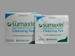 Sumaxin 10 %-4 % topical pads