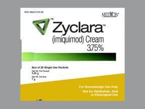 Zyclara 3.75 % topical cream packet