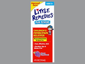 Little Remedies Fever and Pain Reliever 160 mg/5 mL oral liquid