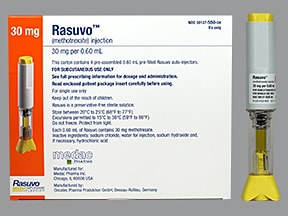 Rasuvo (PF) 30 mg/0.6 mL subcutaneous auto-injector