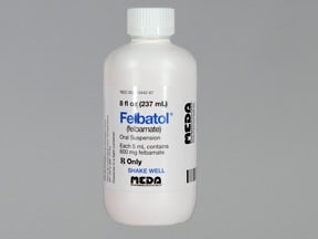 Felbatol 600 mg/5 mL oral suspension