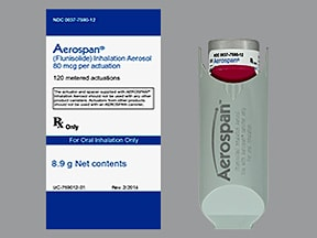 Aerospan 80 mcg/actuation HFA aerosol inhaler
