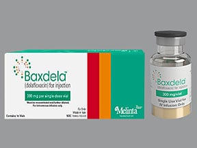 Baxdela 300 mg intravenous solution