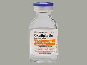 oxaliplatin 100 mg/20 mL intravenous solution