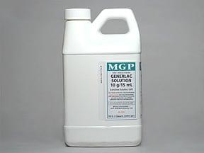 Generlac 10 gram/15 mL oral solution