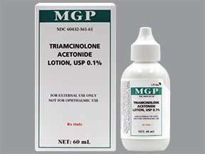 triamcinolone acetonide 0.1 % lotion