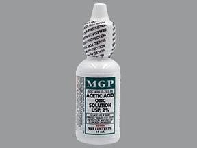 acetic acid 2 % ear solution