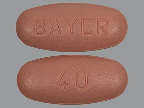 Stivarga 40 mg tablet