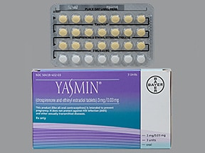 Yasmin (28) 3 mg-0.03 mg tablet