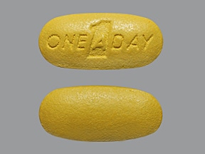 One-A-Day Women's Active 18 mg iron-400 mcg-180 mg tablet