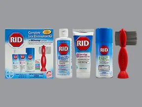RID Complete Lice Elimination Kit 4 %-0.33 %-0.5 % Topical