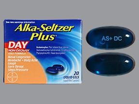 Alka-Seltzer Plus Day 5 mg-10 mg-325 mg capsule