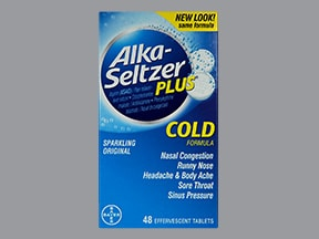 Alka-Seltzer Plus Cold (PE) 2 mg-7.8 mg-325 mg effervescent tablet