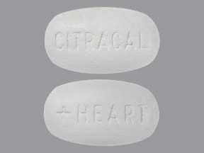 Citracal D + Heart Health 315 mg-250 unit-200 mg tablet