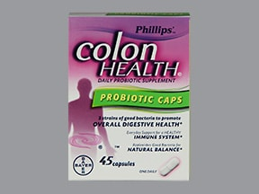 Phillips' Colon Health 1.5 billion cell capsule
