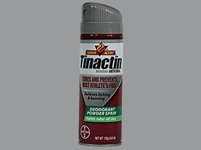 Tinactin 1 % topical spray powder