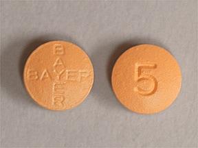 Levitra 5 mg tablet