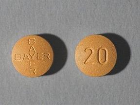 Levitra 20 mg tablet