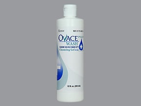 Ovace Plus Wash 10 % top cleanser,gel extended release