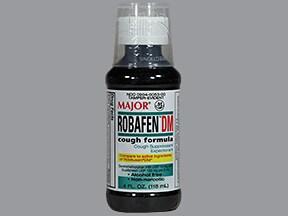 Robafen DM 10 mg-100 mg/5 mL syrup