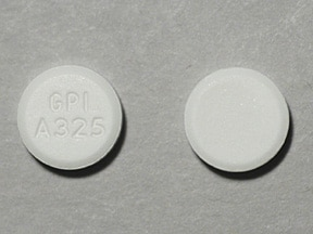 Mapap (acetaminophen) 325 mg tablet