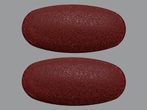 Thera-M 9 mg iron-400 mcg tablet