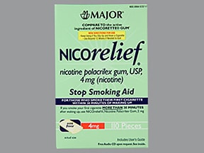 Nicorelief 4 mg gum
