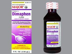 Dimaphen (PE) 1 mg-2.5 mg/5 mL oral solution