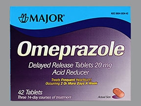 omeprazole 20 mg tablet,delayed release