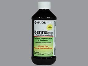 senna 8.8 mg/5 mL syrup