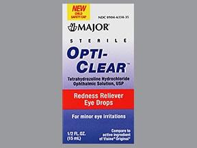 Opti-Clear 0.05 % eye drops