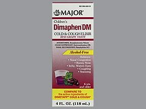 Dimaphen DM 1 mg-2.5 mg-5 mg/5 mL oral solution