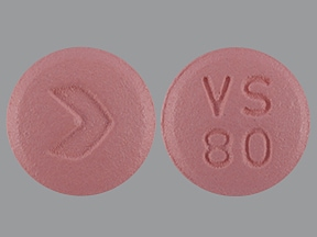 valsartan 80 mg tablet