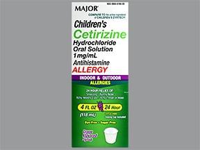 Children's Cetirizine 1 mg/mL oral solution