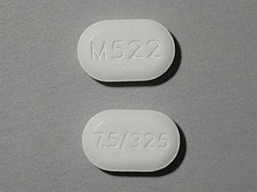 oxycodone-acetaminophen 7.5 mg-325 mg tablet