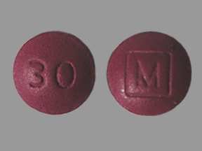 morphine ER 30 mg tablet,extended release